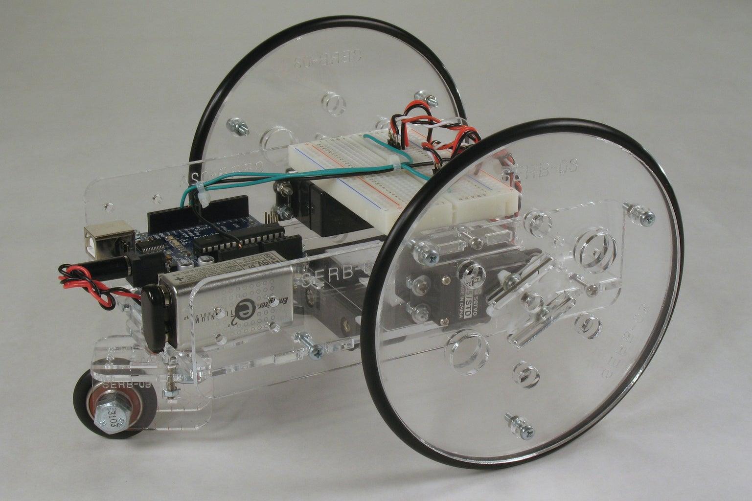 Arduino Controlled Servo Robot (SERB)