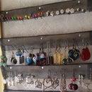 Earring Holder & Display Rack