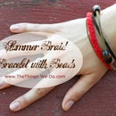 Summer Braid Bracelet with Beads