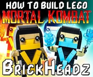 Lego Mortal Kombat Ninja Brickheadz
