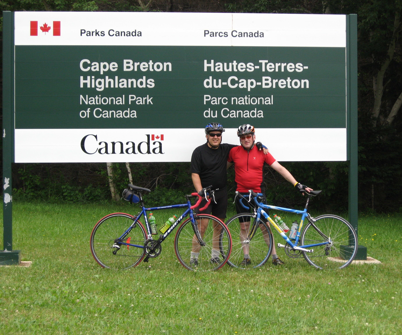 Cabot Trail Bike Ride
