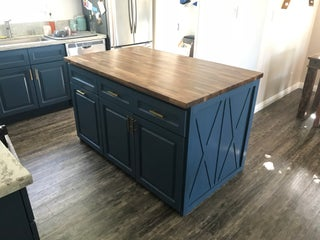 Building My Own Butcher Block Kitchen Island 22 Steps With Pictures Instructables