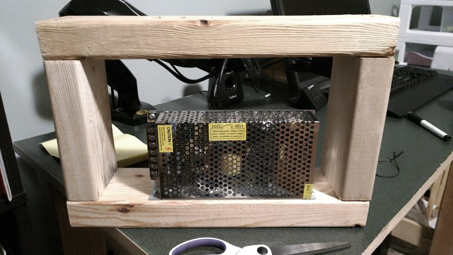 Making the Panel Frame and Button Box