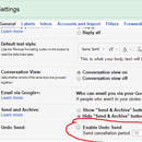 How to Undo Send mails in GMAIL
