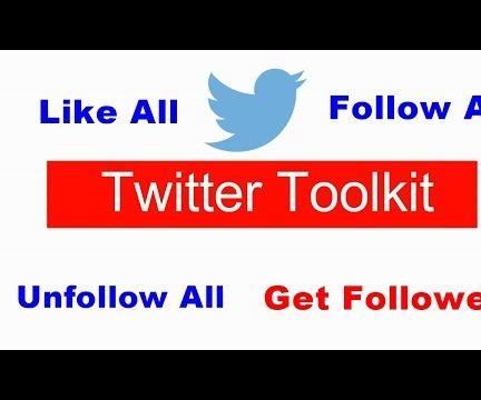 Twitter Automation Toolkit