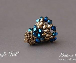 Beaded Bell - Christmas Tree Bell - Beading Tutorial