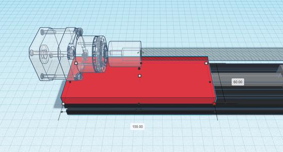 Design Process - Stepper Motor Mount - Base