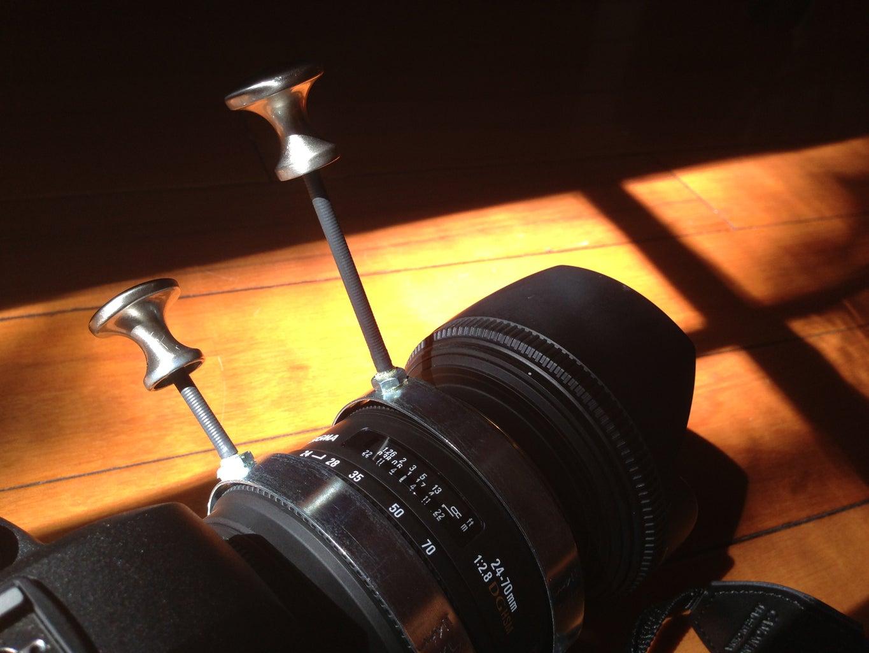 DIY $4 Follow Focus for SLR