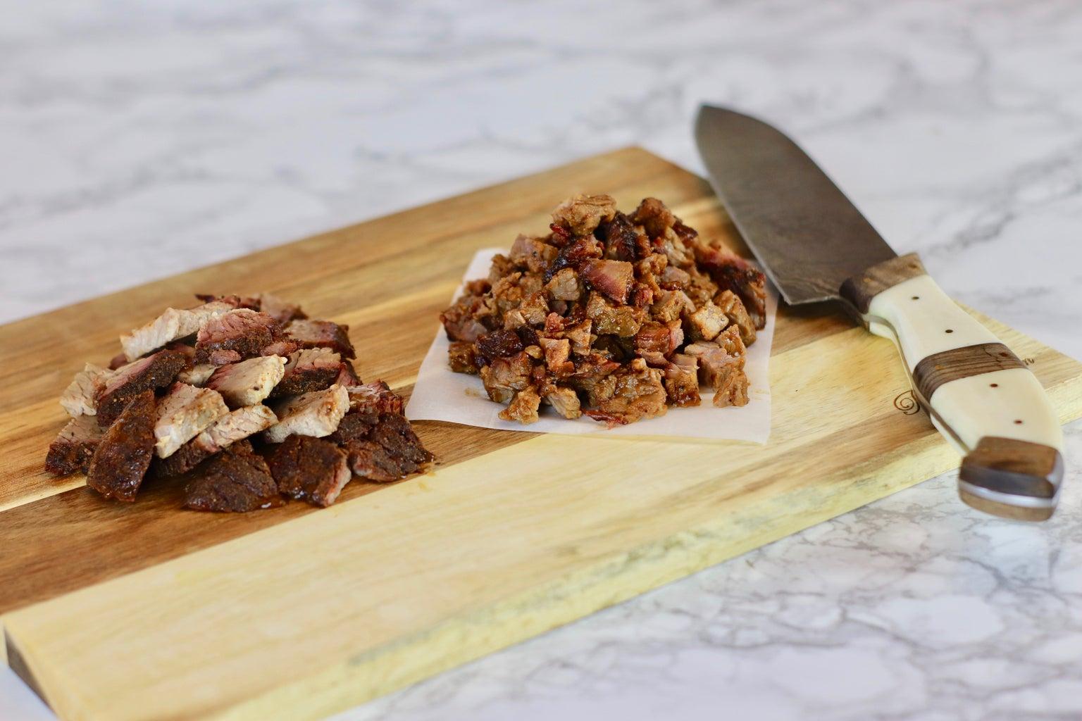 Recipe 1: BBQ Brisket and Burnt End Pizza
