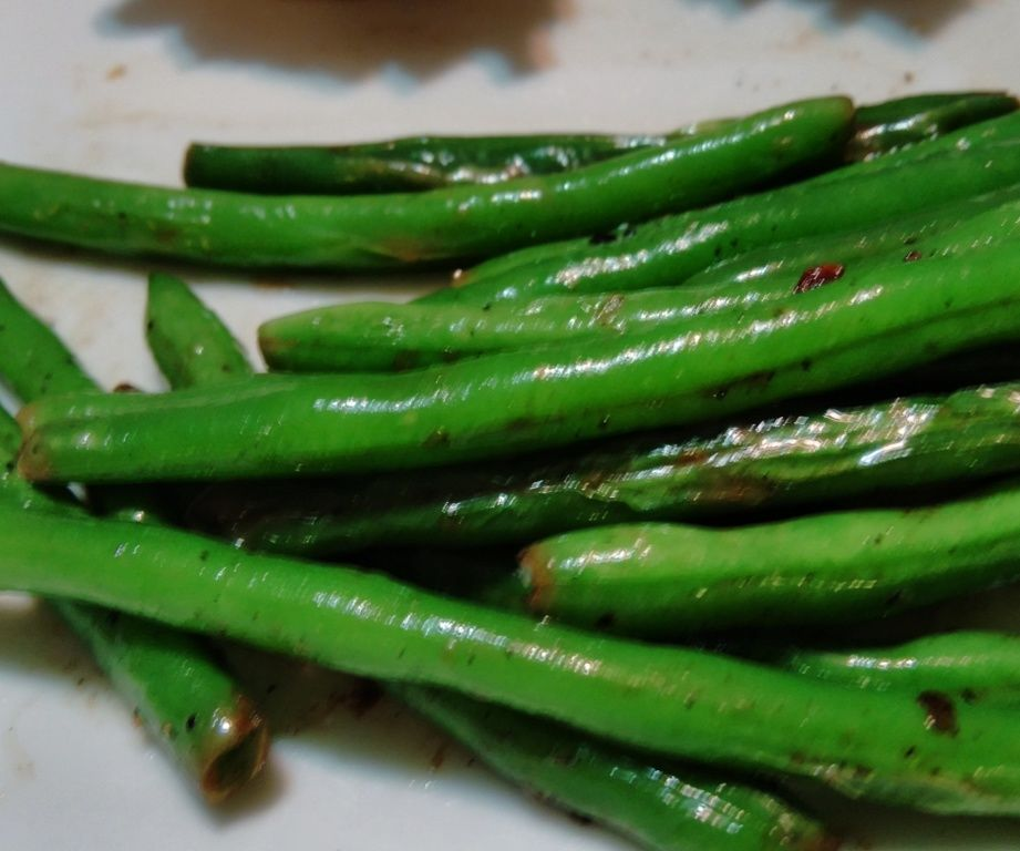 Key Lime Buttered Green Beans