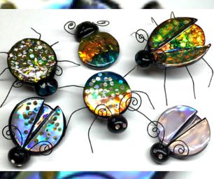 Polymer Clay Jewel Bugs