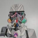 Lasercut Stormtrooper