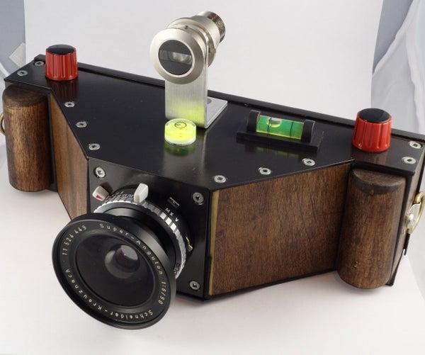 DIY 6x17 Panoramic Film Camera