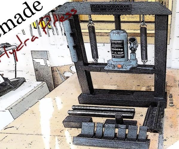 5ton Press Brake Bender 3 in 1