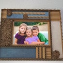 How to make a picture frame out of cardboard?
