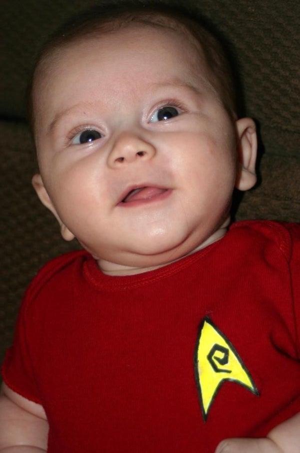 Easy Star Trek Baby Costume