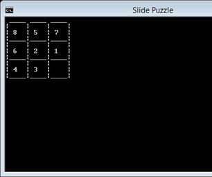 Batch Game: Slide Puzzle