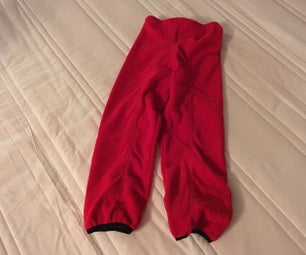 Simple Warm Trousers