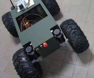 四轮驱动重型越野车