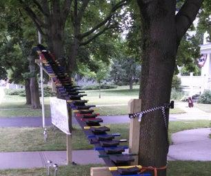 Outdoor Golf Ball Musical Xylophone