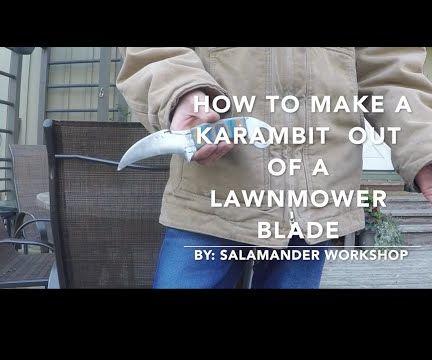 How to Make a Awesome Micarta Handled Karambit!