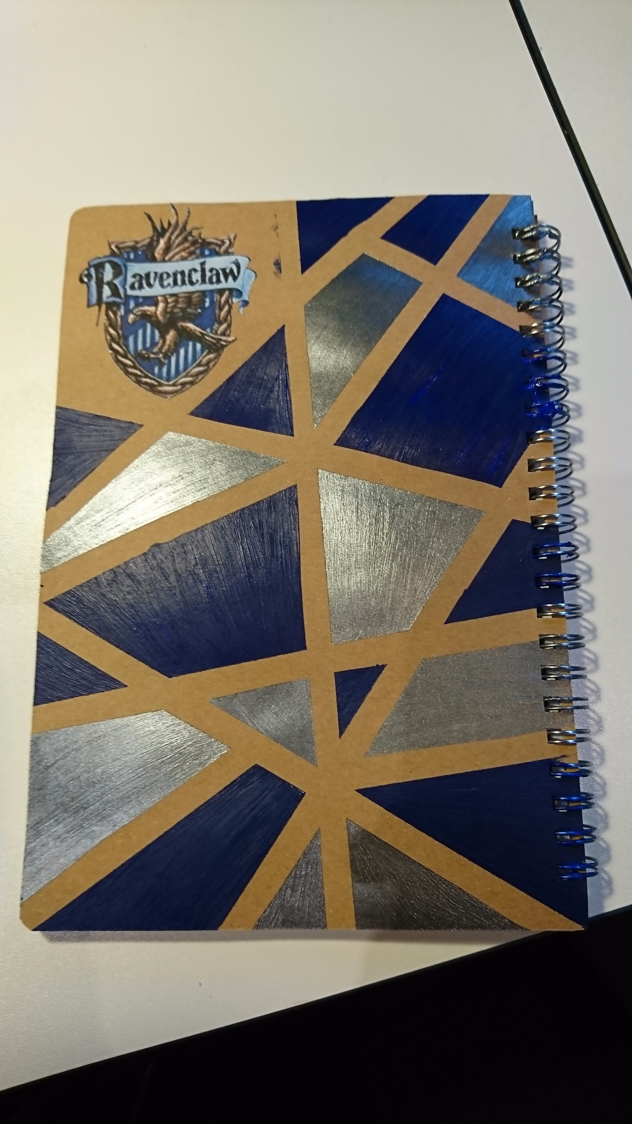 Notebook Modification (Harry Potter Style)