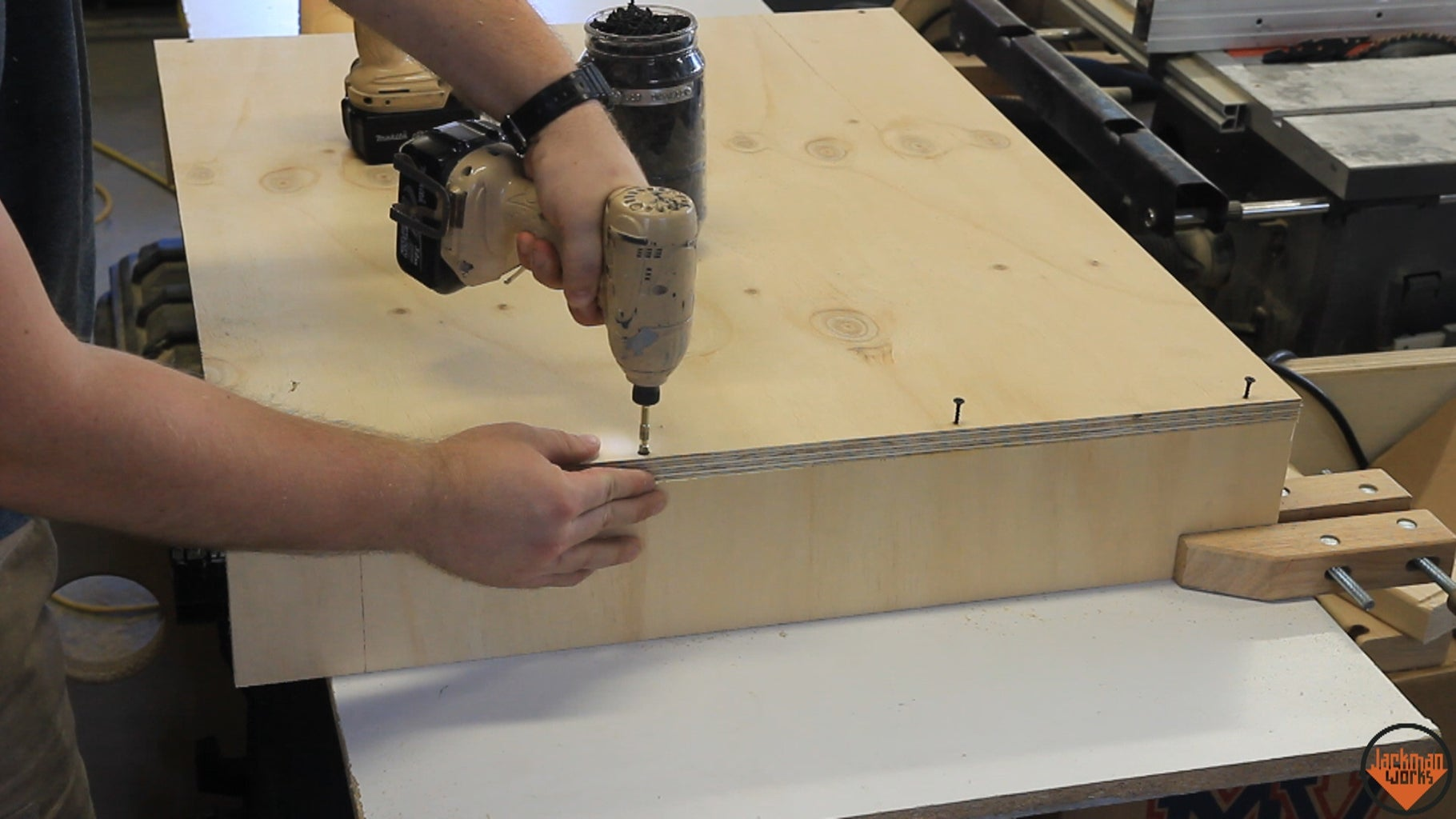 Sizing the Materials and Assembling the Lower Boxes