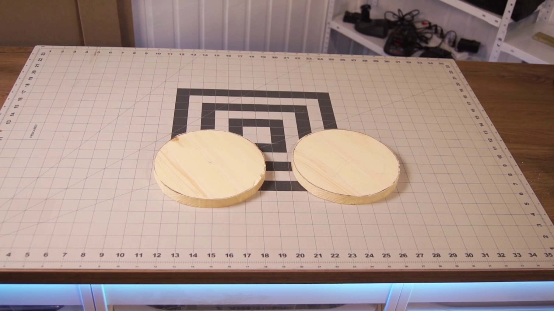 Cut the Wooden Base Shapes
