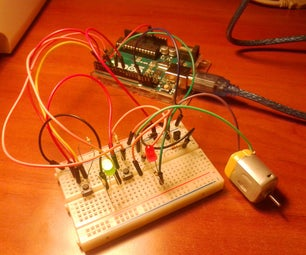 Start-Stop Dc Motor Control With Arduino