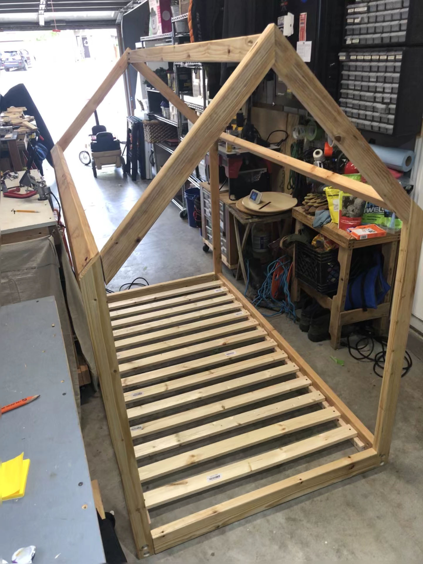 House Shaped Montessori Bed 19 Steps With Pictures Instructables