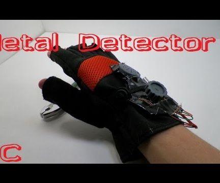 Metal Detector Glove