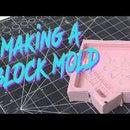 Cómo hacer un molde de bloques de silicona