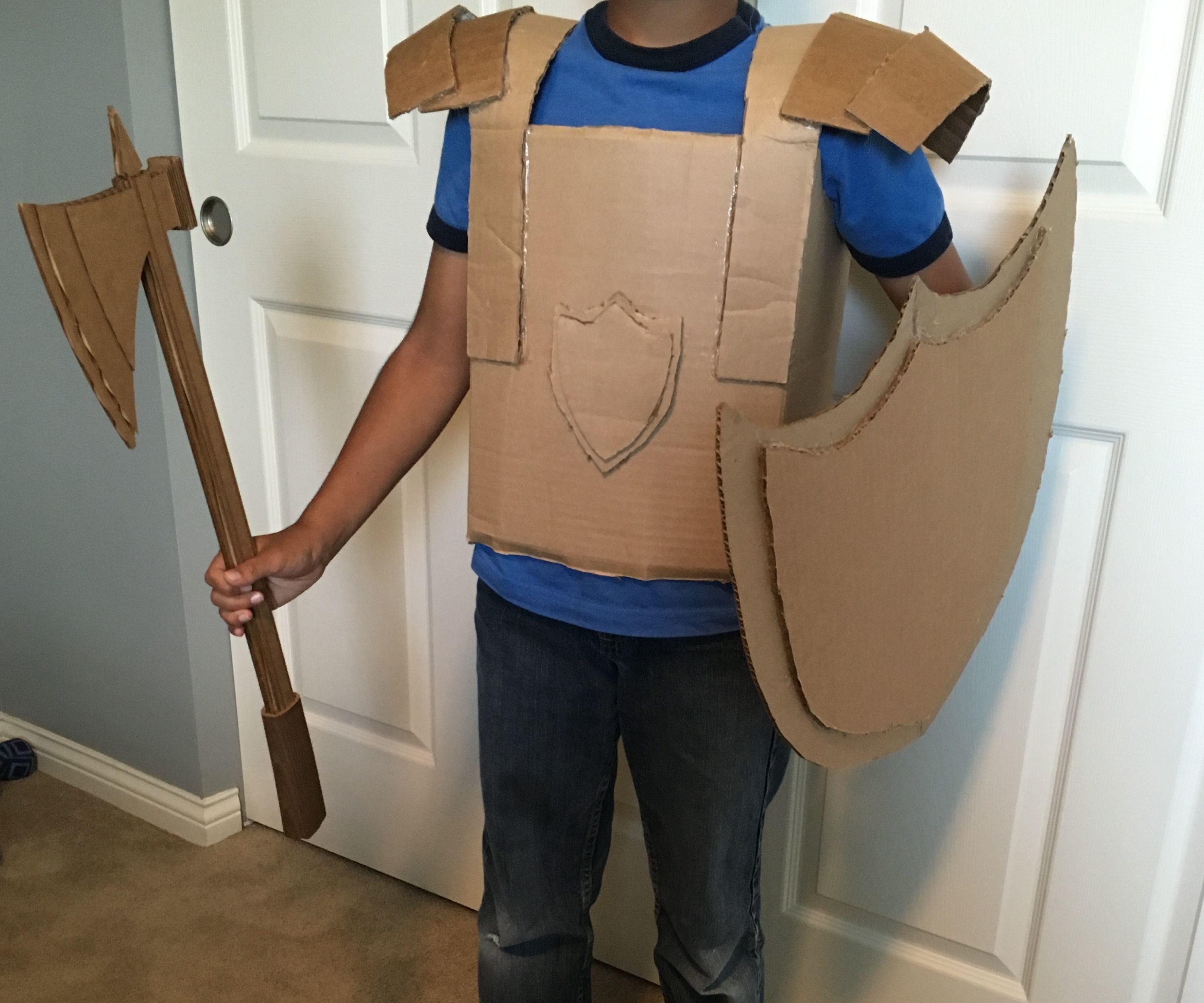 Cardboard Armor Suit