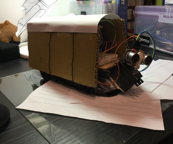 Detect Objects While Driving RC Car