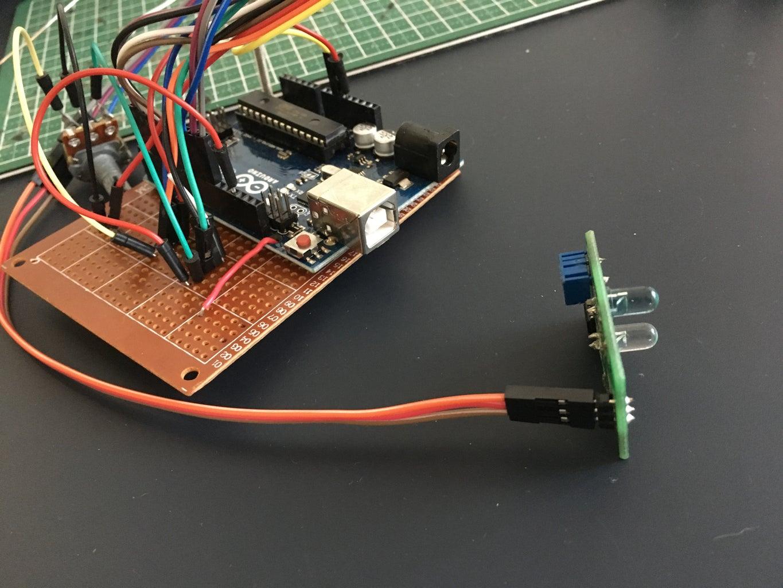 Circuitry: the Infrared Sensor