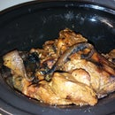 Slow Cooked Wild Boars Head