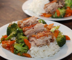Slow-cooked Crispy Chinese Pork Belly
