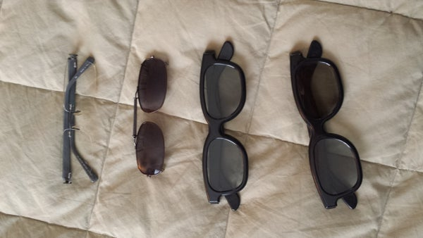 3D Clips for Prescription Glasses