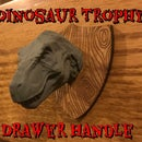 Dinosaur Trophy Drawer Pulls