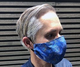 Olson Mask for PPE With Optional Filter Pocket