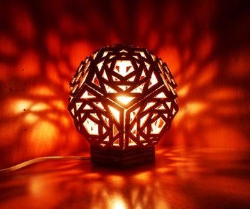 Lampshade + Base = Lamp!