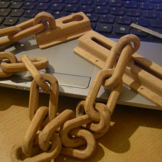 Three Ways to Make a Wooden Chain