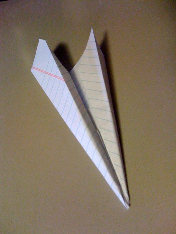 "paper aeroplane ""aerodynamite"""