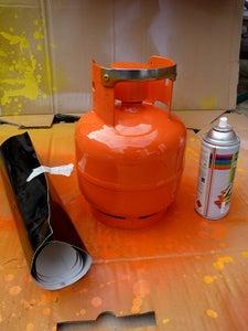 Paint Your Gas Bottle