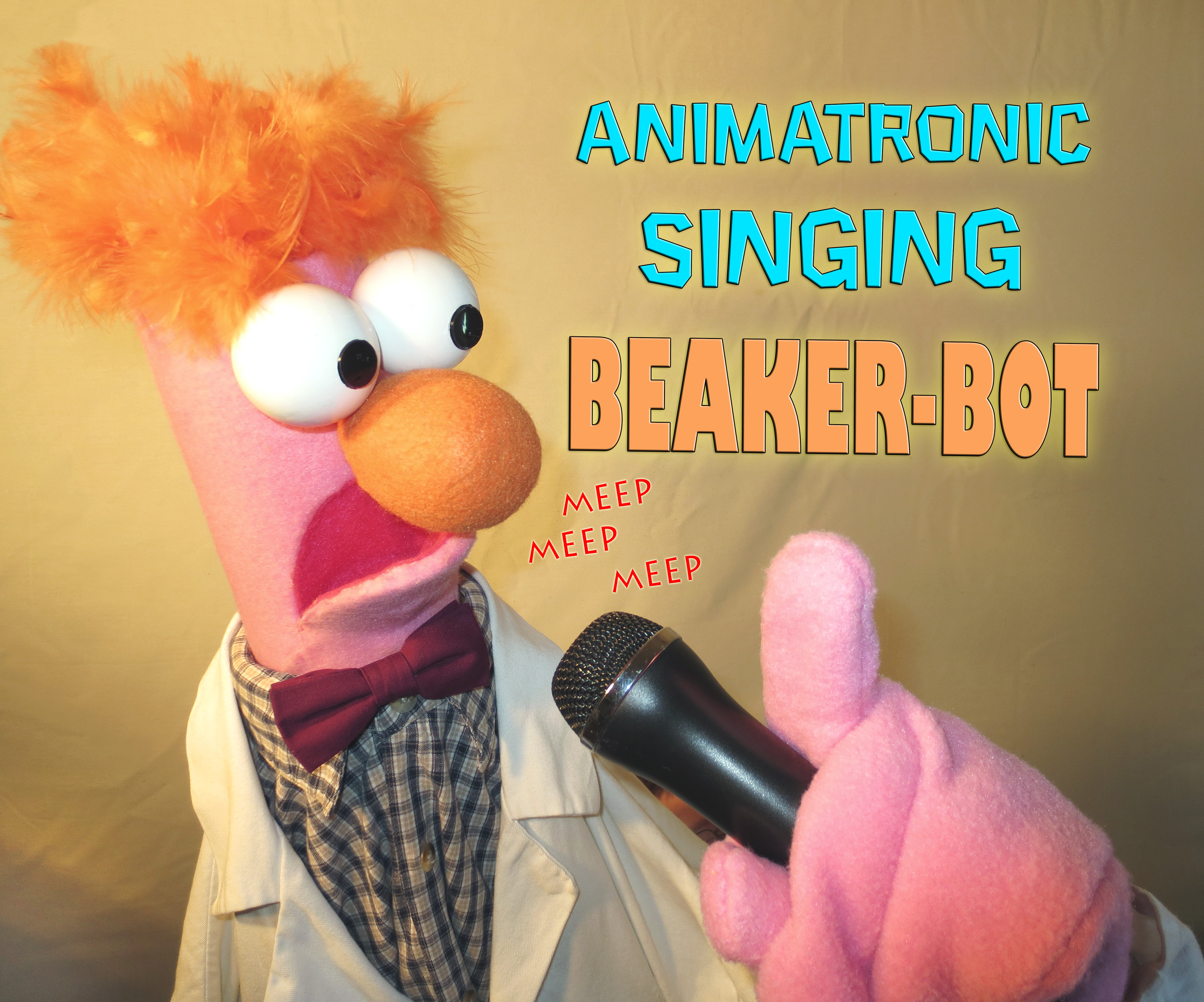 Animatronic Singing Beaker-bot