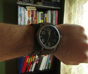 Nathan Drake's Watch  - an Intro to Leather