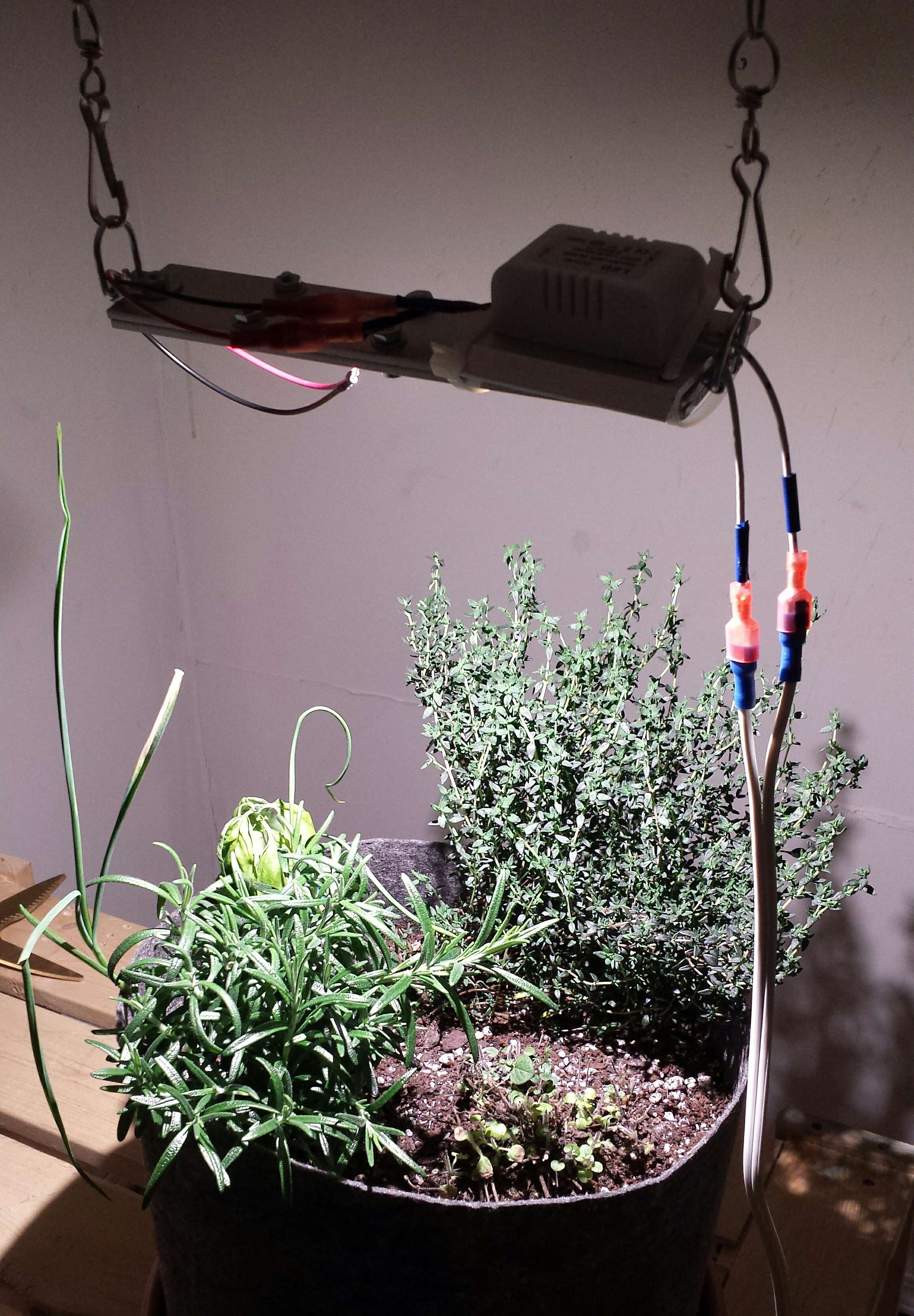 8w DIY LED Herb Garden
