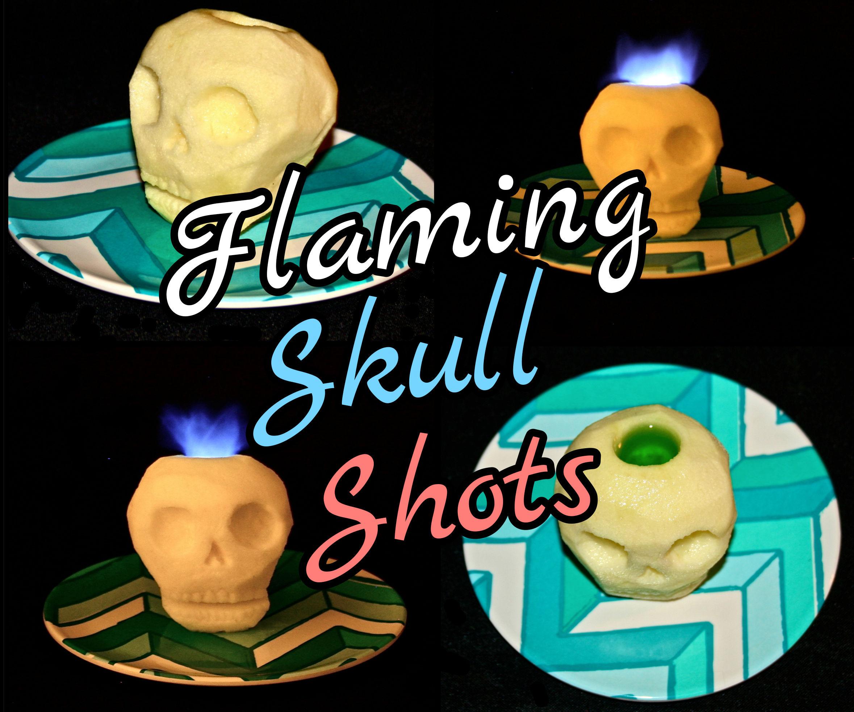 Flaming Skull Shots