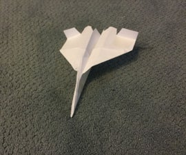 F15 Paper Airplane