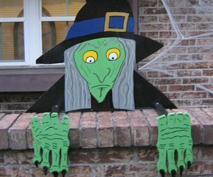 3D Wall Witch